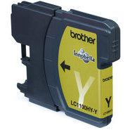 Brother Tintenpatrone LC- 1100HYY, gelb