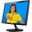 "54,61 cm (22"")- LED- Monitor SAMSUNG SyncMaster S22B300B LED"