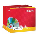 Imation DVD rewritable DVD+RW, paquet de 10 pièces (Jewel Case)
